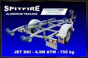 Jet Ski Trailers, Aluminium chassis, alloy wheels Coomera Gold Coast North Preview