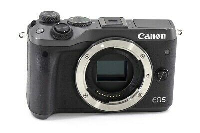 Canon EOS M6 Mirrorless Digital Camera (Black) 1724C001- BODY ONLY