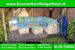 Steigerhouten LOUNGE Hoekbank Loungeset Bank SHOWROOM OPEN