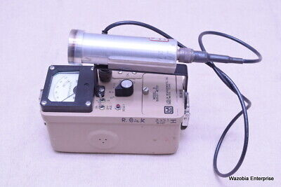 Ludlum Measurements Inc Model 3 Survey Meter With Probe