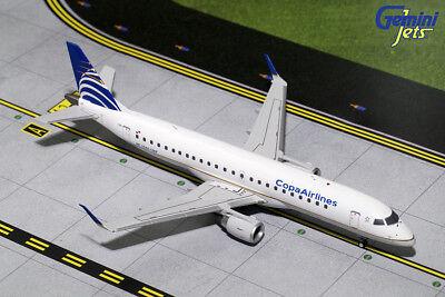 Gemini Jets Copa Airlines Embraer Erj 190 1 200 Die Cast G2cmp563