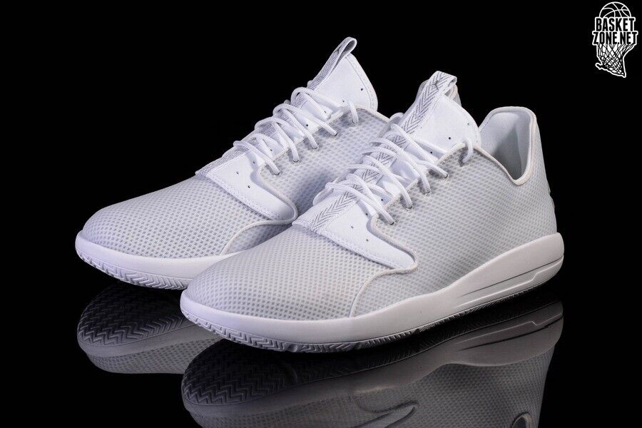 in stock 799c8 13864 genuine Nike Air Jordan Eclipse white   metalic Silver - as new with box  size 10 (44)