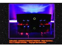 XBOX original Newly customised 160gb hd and Coinops 8 Massive premium bundle