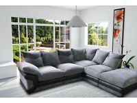 BRAND NEW SOFA DINO JUMBO CORD CORNER/3+2 SEATER SET OFFER PRICE