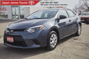 2015 Toyota Corolla CE MANUAL TRANSMISSION, POWER WINDOWS AND...