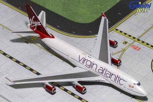GEMINI JET (GJVIR1799) VIRGIN ATLANTIC 747-400 1:400 SCALE DIECAST METAL MODEL