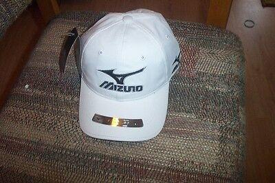 BRAND NEW Mizuno Tour Series Tour cap adjustable- White hat deal