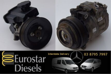 Mercedes Vito Sprinter Power Steering Pumps and AC Compressors