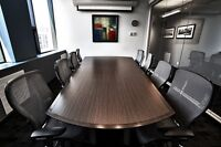 Meeting rooms, boardrooms, office by the hour/day