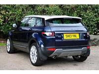Land Rover Range Rover Evoque SD4 PURE TECH (blue) 2013-05-24