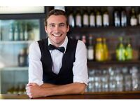 Barback and Glass Collector, Immediate Start, Central London