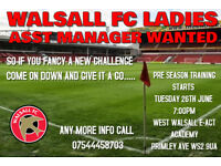 ASST MANAGER WANTED