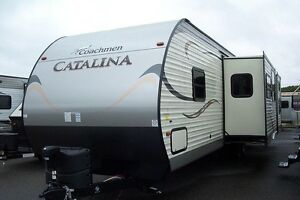 2015 Coachmen Catalina 333BHKS- KITCHEN ISLAND+ BUNK BED ROOM &