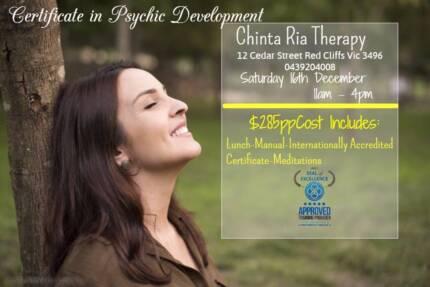 Certificate in Psychic Development