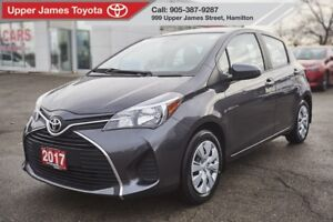 2017 Toyota Yaris LE BACK UP CAMERA, HEATED SEATS, HATCHBACK