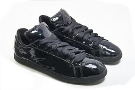Lacoste Trainers Limited Edition Black Patent Size 9UK / 10US
