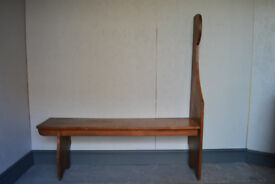 antique hall bench settle