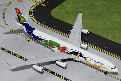 SAA-South African Airways-Airbus a340-300 1:200 HOGAN modello 0656 NUOVO a340