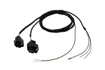 Original Kufatec Cable Loom + Sensor Headlight Cleaner Sra for Vw Golf 7 VII