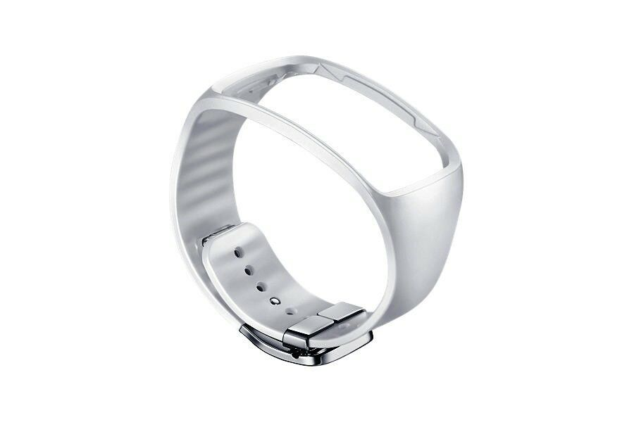 Original Samsung Armband ET-SR750B ( Basic ) für Samsung Gear S – Weiß – Neu