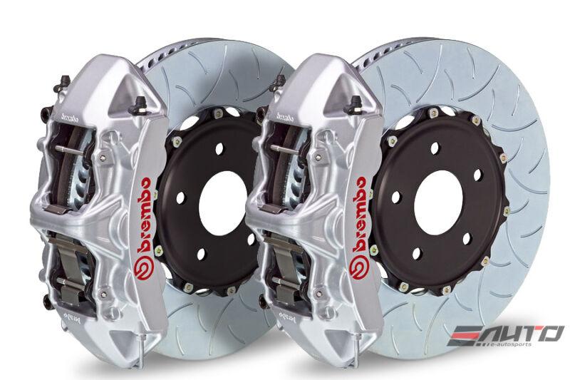 Brembo Front Gt Brake 6pot Caliper Silver 355x32 Type3 Disc A4 09-14 A5 08-14 B8