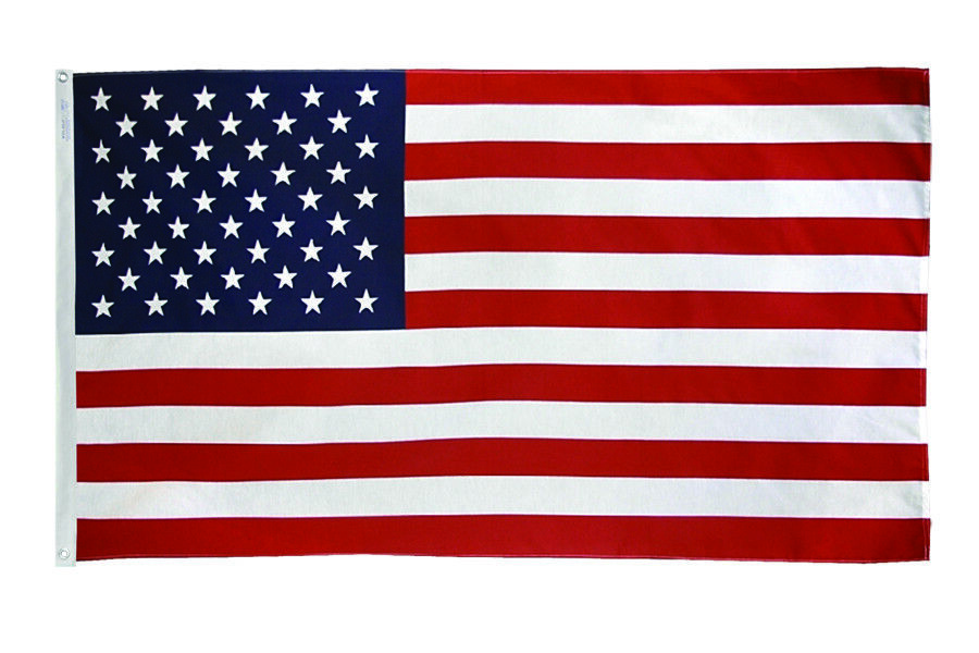Annin Sewn Nylon US Flag   **MADE IN THE USA**  Sizes 2'x3'