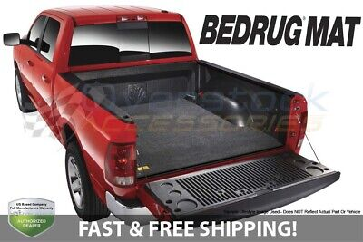 BedRug Mat for 2007-2018 Silverado/Sierra 1500 Crew Cab 5.8ft Pickup Truck Bed
