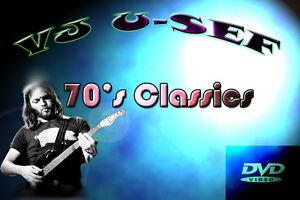 70's Classic Rock  Music Videos * Volume 1 * Skynyrd Santana Elton John *