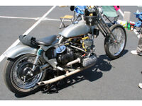 Sunbeam Frame S7 / S8 – 1600cc VW engined Von Dutch Project Real Bobber Parts only