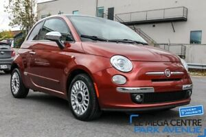 2013 Fiat 500 Lounge CUIR, TOIT, BTH, MAGS*TRES PROPRE*