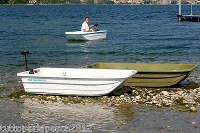 Vergaplast Tender 220 Catamarano Carp Fishing Barca da Pesca Spinning Boat