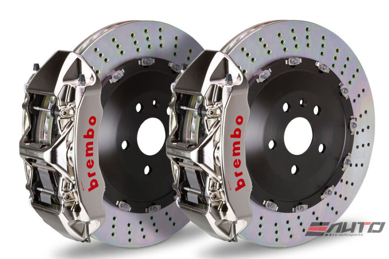 Brembo Front Gt Big Brake 6pot Gt-r 405x34 Drill Disc Benz C219 W211 R230 Amg