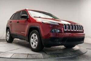 2015 Jeep Cherokee SPORT 4WD GROUPE ELEC, BTH, CAM*74000KM*