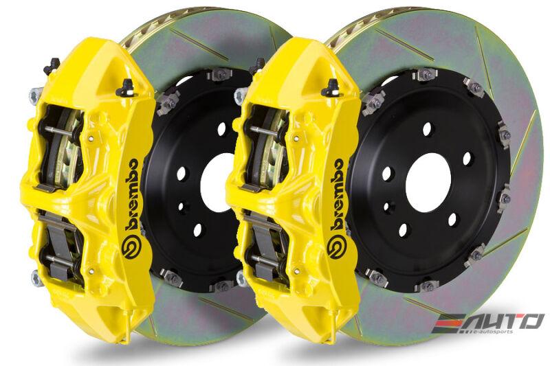 Brembo Front Gt Big Brake Bbk 6piston Yellow 380x34 Slot Disc Viper Srt-10 03-10