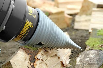 Log Splitter Bit For Skid Steer Post Hole Auger 2 Hex Shaft Auger Torque