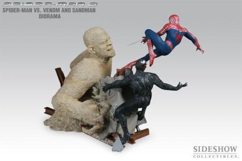 Sideshow Collectibles Spider-Man 3 Spider-Man VS Venom and Sandman Diorama