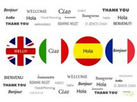 French & Spanish lessons in Canning Town, Plaistow, Stratford... Experienced & friendly