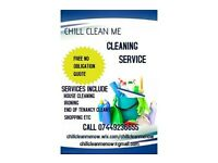 Chill Clean Me Now Cleaning Services