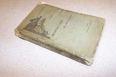 MENSTRUATION ET FECONDATION par A. AUVARD physiologie et pathologie encyclopedie