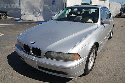 2002 BMW 5-Series 525i 2002 BMW 525i Automatic 6 Cylinder NO RESERVE