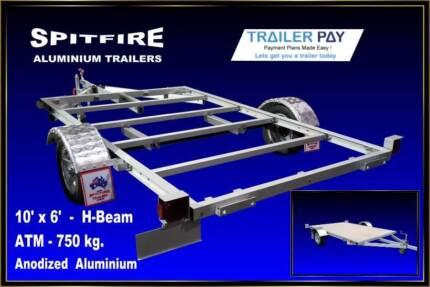 Aluminium 10x6 trailer Darwin CBD Darwin City Preview