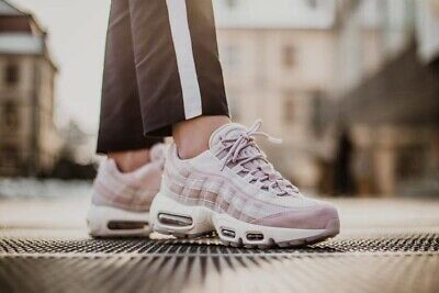 Nike Air Max 95 LX Particle Rose Uk Size 5.5 Eur 39 AA1103-600
