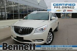 2015 Buick Enclave Premium-Roof, Nav, Heated/cooled seats, 20's