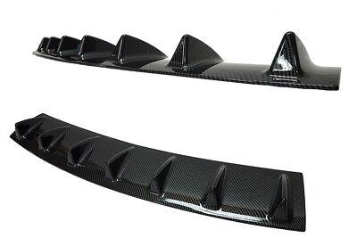 CARBON lack Diffusor für Mercedes-Benz S-Klasse Coupe Rear Body Bumper Diffuser
