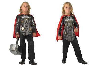 Rubies Thor 2 Kinder Jungen Helden Kostüm Fasching Karneval Verkleiden