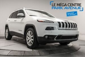 2015 Jeep Cherokee LIMITED AWD CUIR, TOIT, NAV, CAM, MAGS