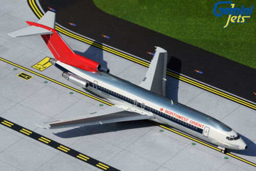 GEMINI200 (G2NWA334) NORTHWEST ORIENT 727-200 1:200 SCALE DIECAST METAL MODEL