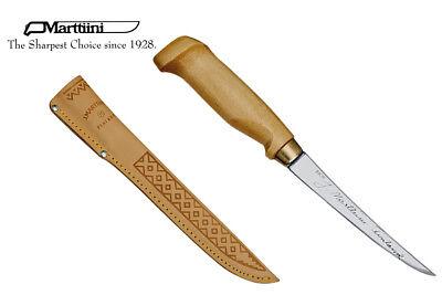 MARTTIINI Finnisches Filetiermesser, Holzgriff, Lederscheide 903010 online kaufen