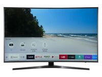 """Samsung 49"""" curved 4k ultraHD smart Warranty Excellent Condition Boxed"""