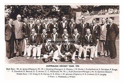 rp15777 - Australian Cricket Team of 1956- photo 6x4